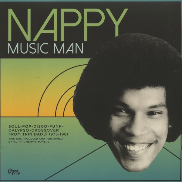 Nappy - Music Man - Funk, Disco & Calypso From Trinidad 1975-1981(2-LP/ 7inch) Read more at: https://www.bear-family.com/various-nappy-music-man-funk-disco-und-calypso-from-trinidad-1975-19812-lp/-7inch.html Copyright © Bear Family