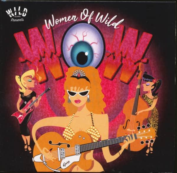 Wow - The Women Of Wild (CD)