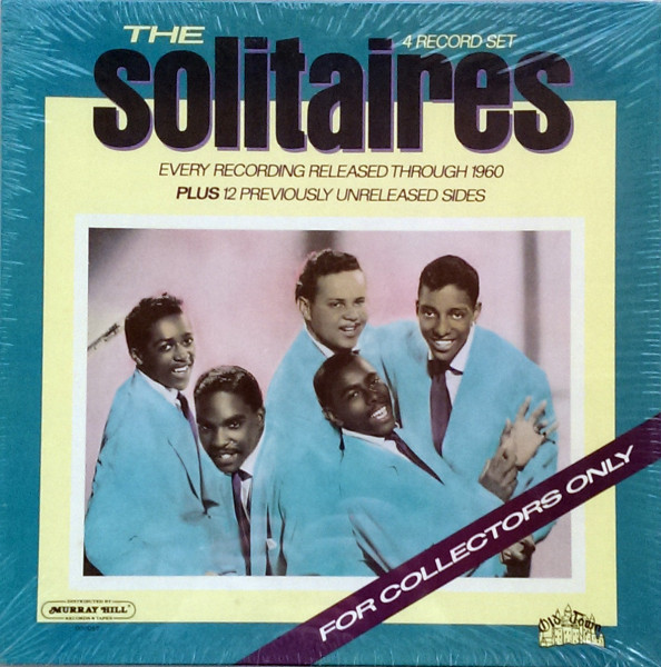 The Solitaires - For Collectors Only (4-LP Box)