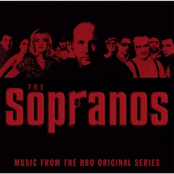 The Sopranos: Music From The HBO Original (2-LP, 180g, Red Vinyl)