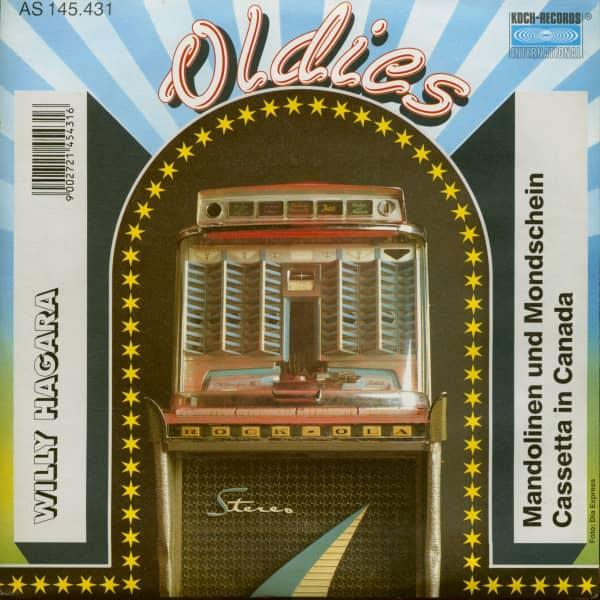 Mandolinen und Mondschein - Cassetta in Canada (7inch, 45rpm, PS)