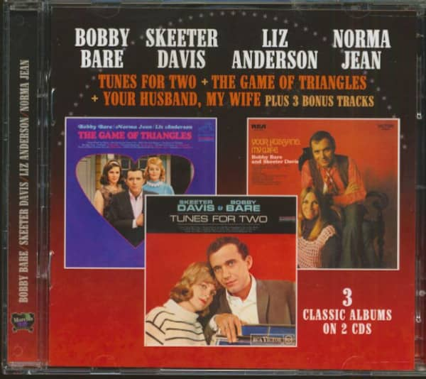 Bobby Bare - Skeeter Davis - Liz Anderson - Norma Jean (2-CD)