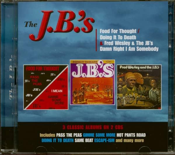The J.B.'s - 3 Classsic Albums (2-CD)