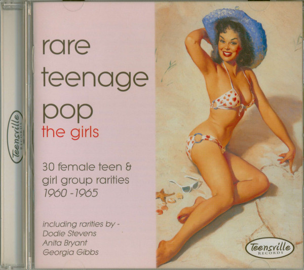 Rare Teenage Pop - The Girls 1960-65 (CD)