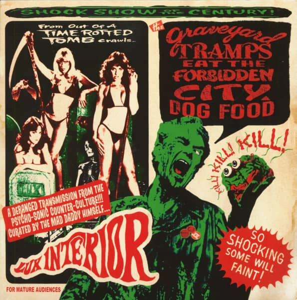 The Graveyard Tramps Eat The Forbidden City Dog Food (2-LP, 10inch, Ltd.)