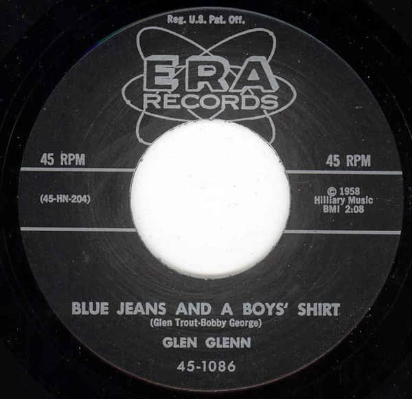 Blue Jeans And A Boy's Shirt - Would Ja' 7inch, 45rpm