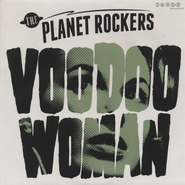 Voodoo Woman b-w Snakebit 7inch, 45rpm - picture sleeve