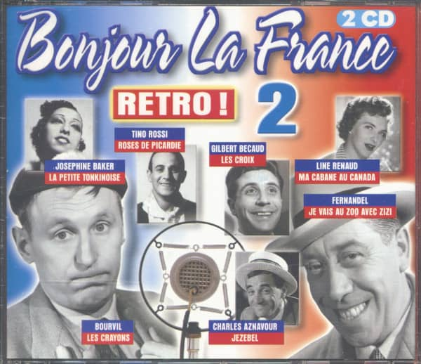 Bonjour La France - Retro Vol.2 (2-CD)