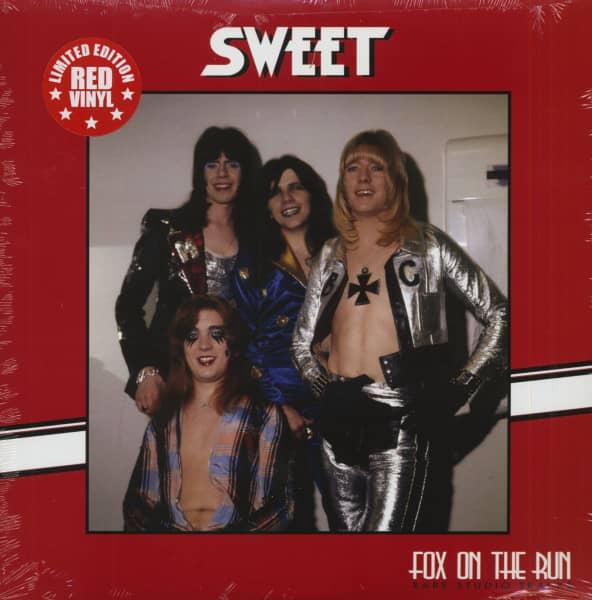 Fox On The Run - Rare Studio Tracks (LP, Red Vinyl, Ltd.)