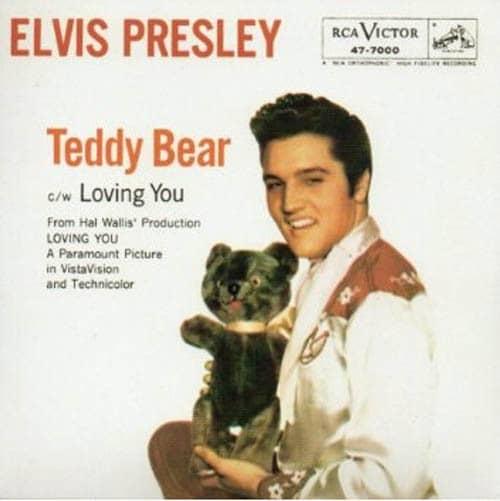 Teddy Bear - Loving You 45rpm - ps