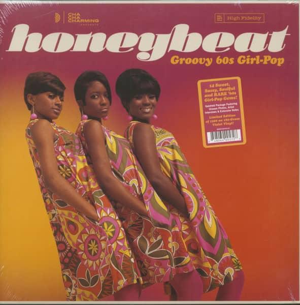 Honeybeat - Groovy 60s Girl-Pop (LP, 180g, Colored Vinyl)
