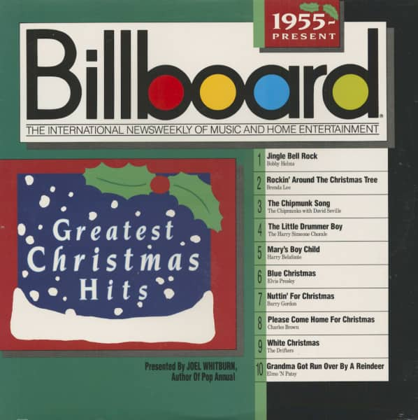Billboard Greatest Christmas Hits - 1955 - Present (LP)