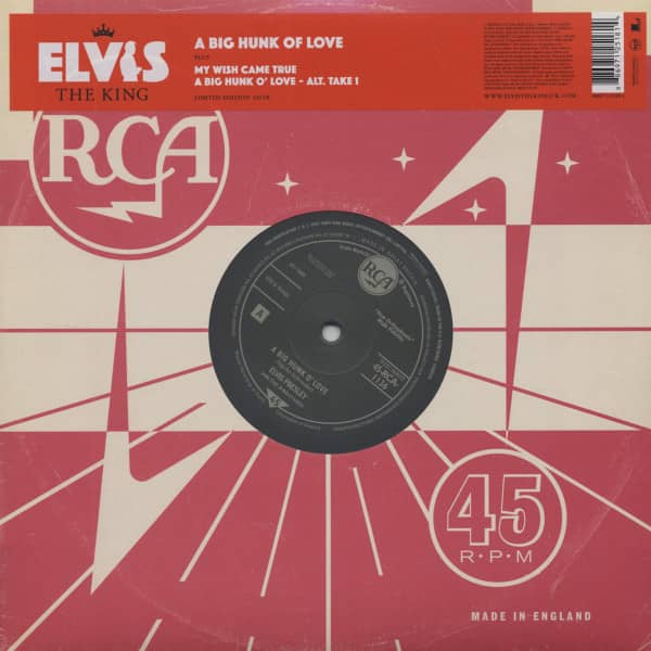 Elvis The King - 18 Of The Greatest Singles Ever Vol.10 (10inch EP, 45rpm, Ltd.)