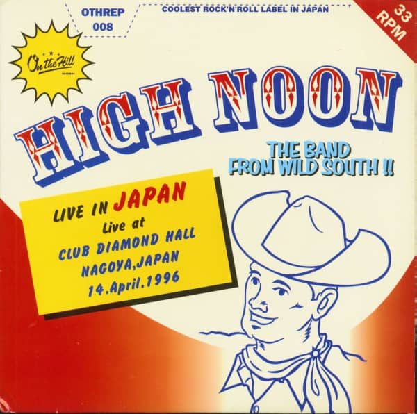 Live In Japan-EP (7inch, EP, 33rpm, PS)
