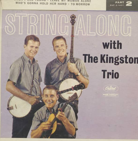 String Along With The Kingston Trio, Vol.2 (7inch, 45rpm, EP, PS)