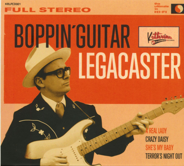 Boppin' Guitar (CD)