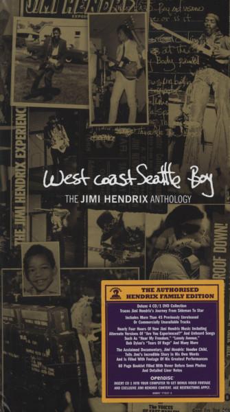West Coast Seattle Boy - Anthology (4-CD&DVD)