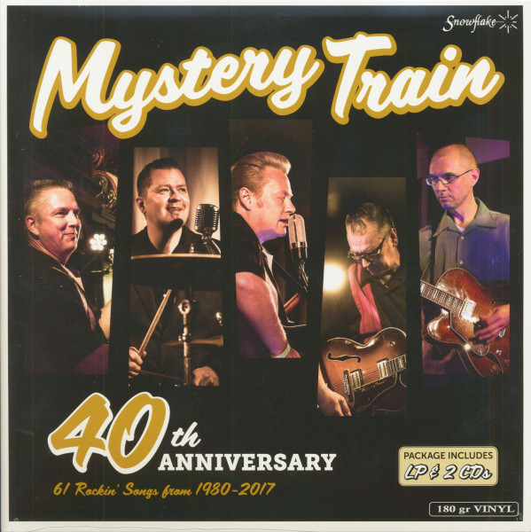 Mystery Train 40th Anniversary (LP & 2-CD, 180g Vinyl)