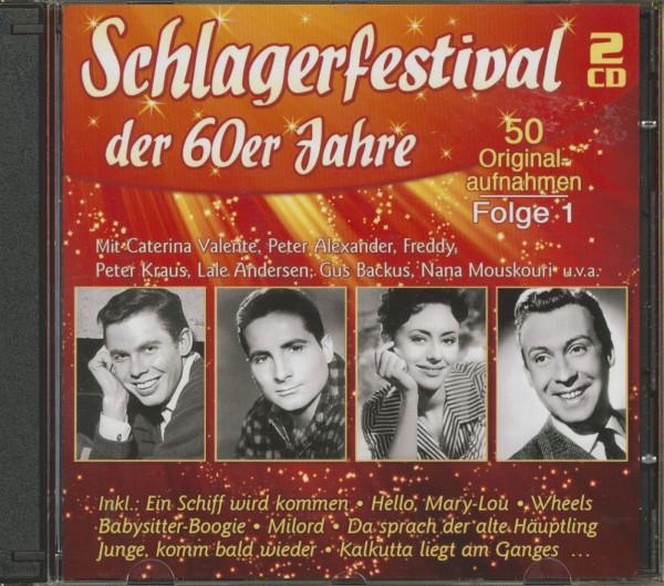 Schlagerfestival der 60er Jahre, Folge 1 (CD)
