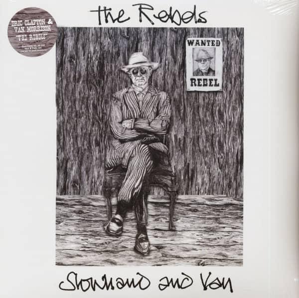 Slowhand & Van - The Rebels (LP, 12inch Single, Ltd.)
