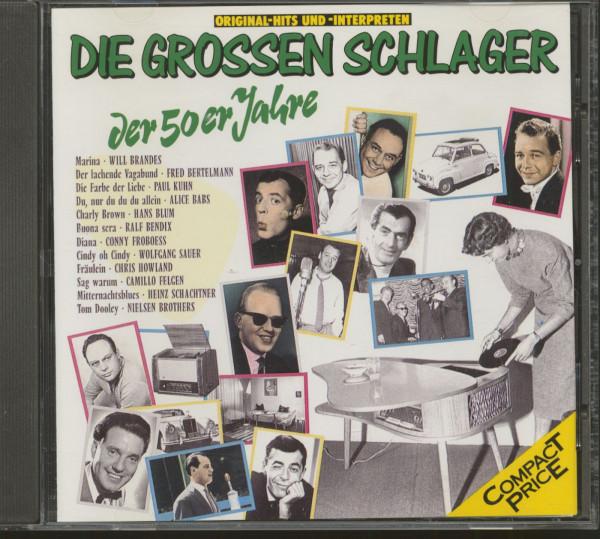Die grossen Schlager der 50er Jahre (CD)