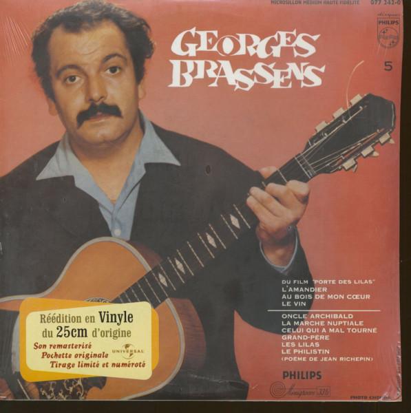 George Brassens - No. 5 (10 inch LP, Limited Edition)