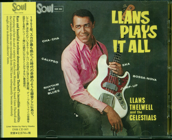 Llans Plays It All (CD)