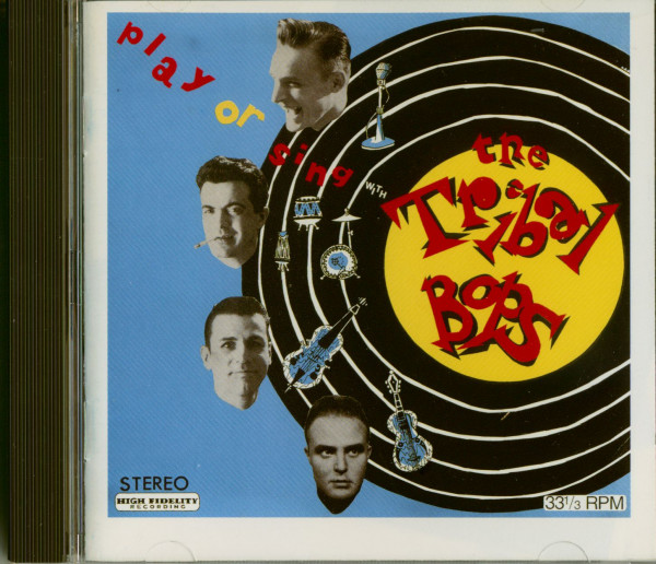 Play Or Sing With The Tribal Bops (CD)