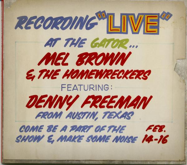 Under Yonder: Mel Brown Live At Pop The Gator 1991 (CD)
