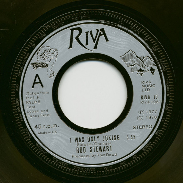 I Was Only Joking - Hot Legs (7inch, 45rpm)