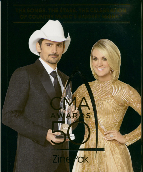 50th Annual CMA Awards Zinepak (CD)