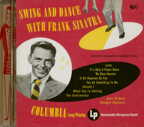 Swing And Dance With Frank Sinatra (CD)