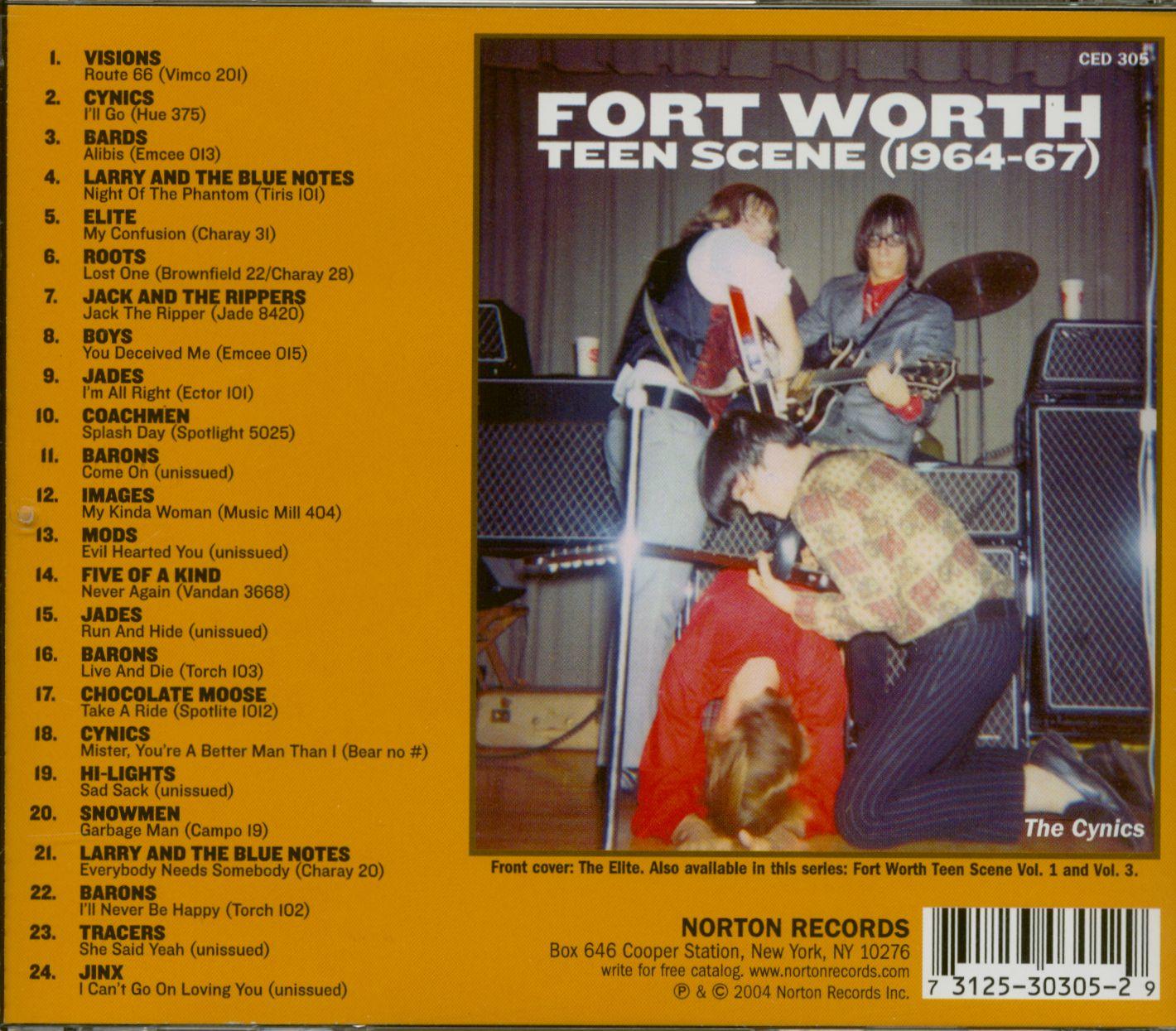 Various Cd Fort Worth Teen Scene Vol 2 Cd Bear Family