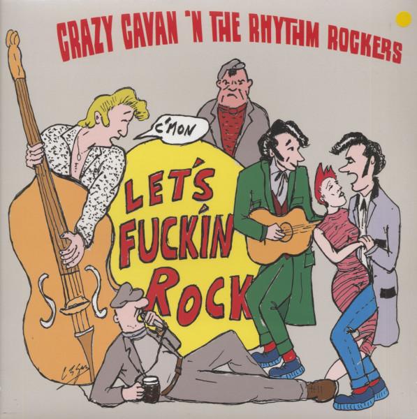 Let's F***in Rock (LP, Yellow Vinyl, Ltd.)