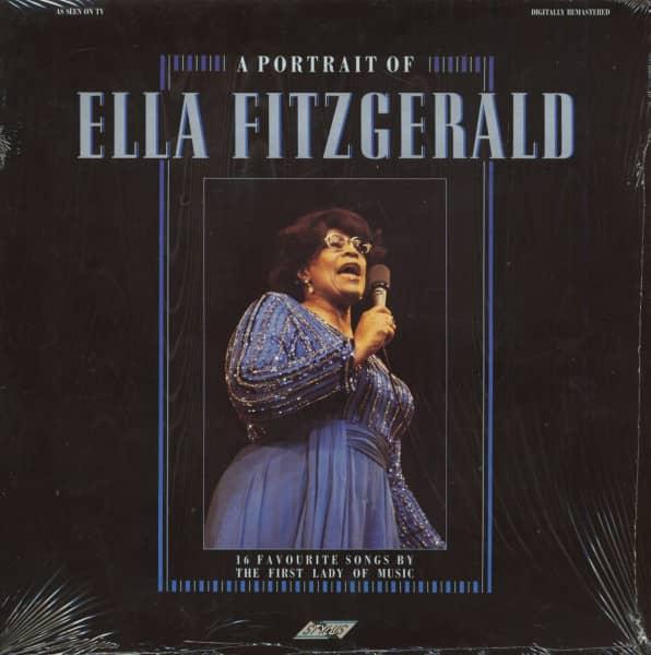 A Potrait Of Ella Fitzgerald (LP)