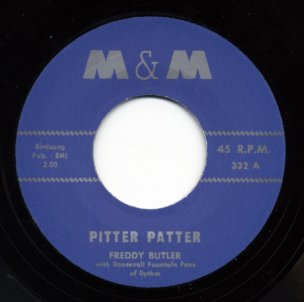 Freddy Butler - Roosevelt Fountain's 7inch, 45rpm