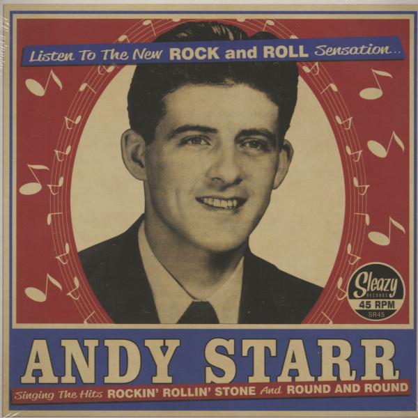Rockin' Rollin' Stone - Round & Round (7inch, 45pm, PS)