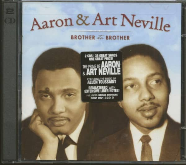 Aaron & Art Neville - Brother To Brother (2-CD)