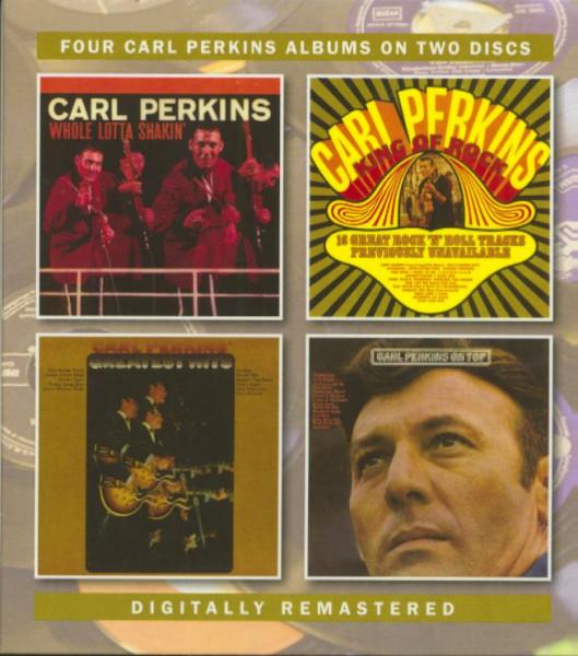 Four Carl Perkins Albums (2-CD)