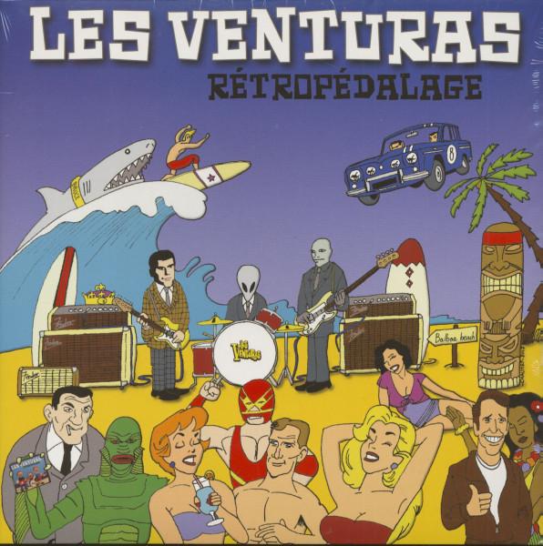 Retropedalage (LP)