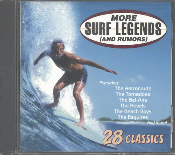 More Surf Legends And Rumors (CD)