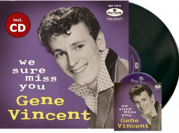 We Sure Miss You - Commemorative Album (LP, 10inch &ampamp; CD, Ltd.)