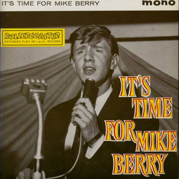 It's Time For Mike Berry (7inch EP, 45rpm, PS, TC)