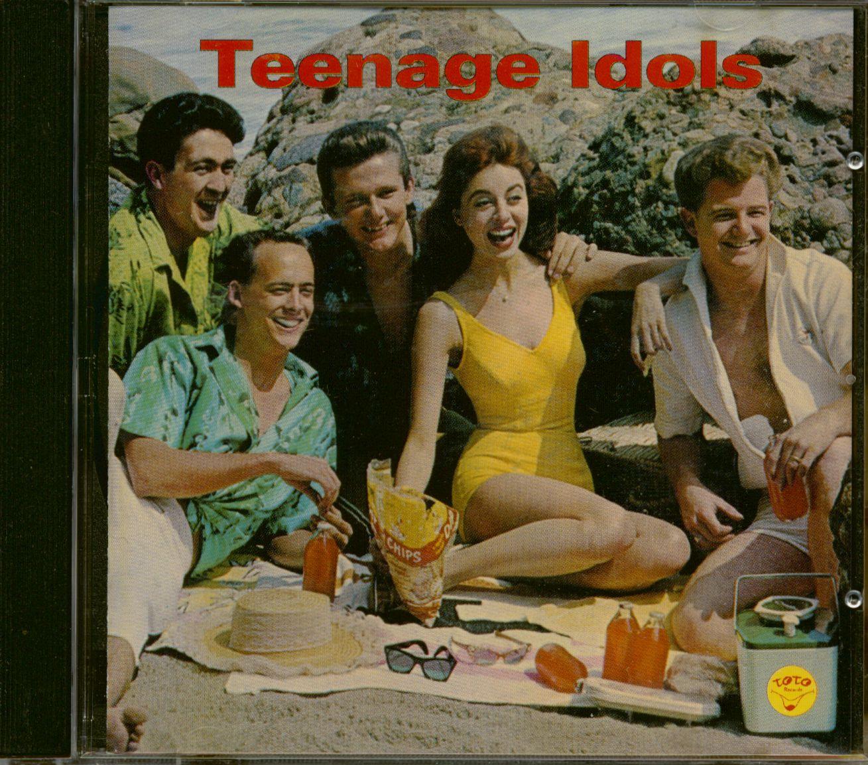 Various Cd Teenage Idols Cd Bear Family Records