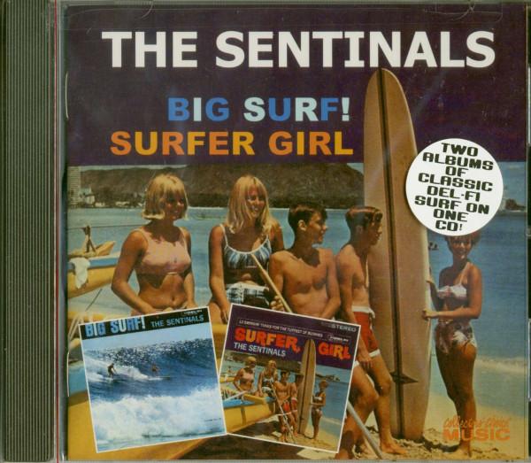 Big Surf - Surfer Girl (CD)