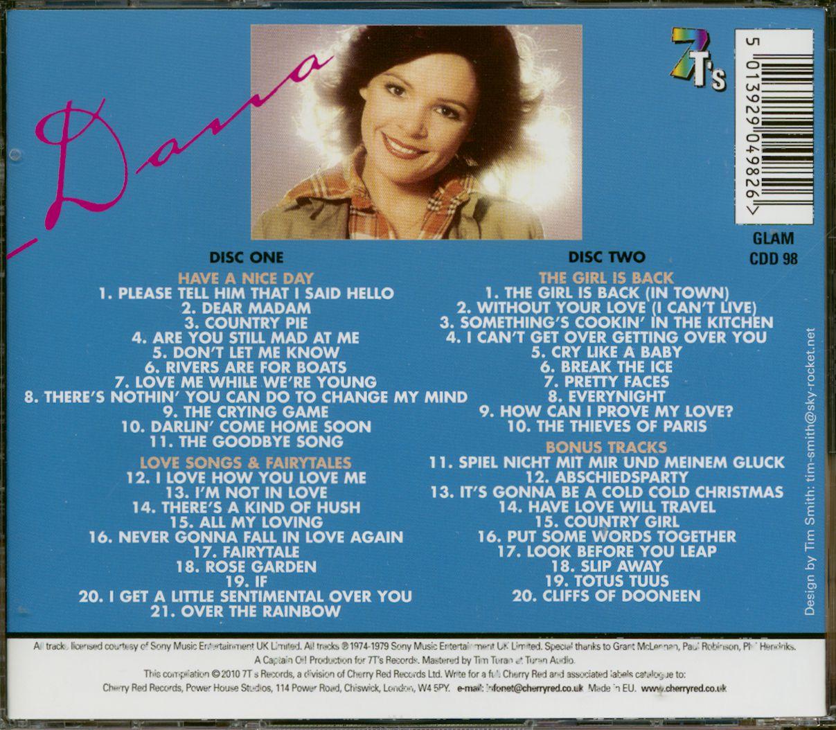 Dana Cd The Gto Years 2 Cd Bear Family Records