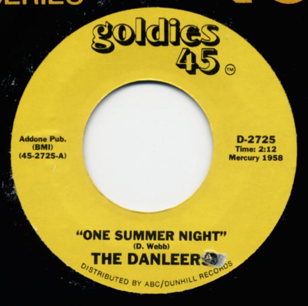 One Summer Night b-w Wheelin' And A-Dealin' 7inch, 45rpm