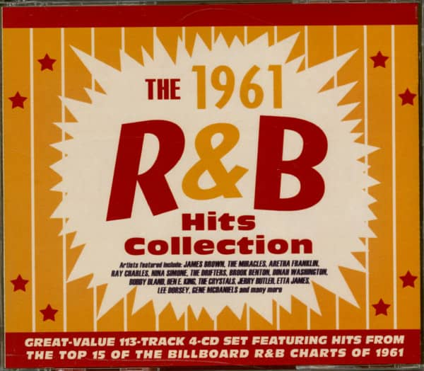 The 1961 R&B Hits Collection (4-CD)
