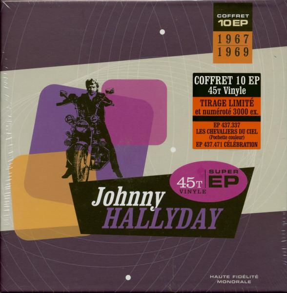 Johnny Hallyday 1967-1969 (10x7inch EP, 45rpm, Ltd.)