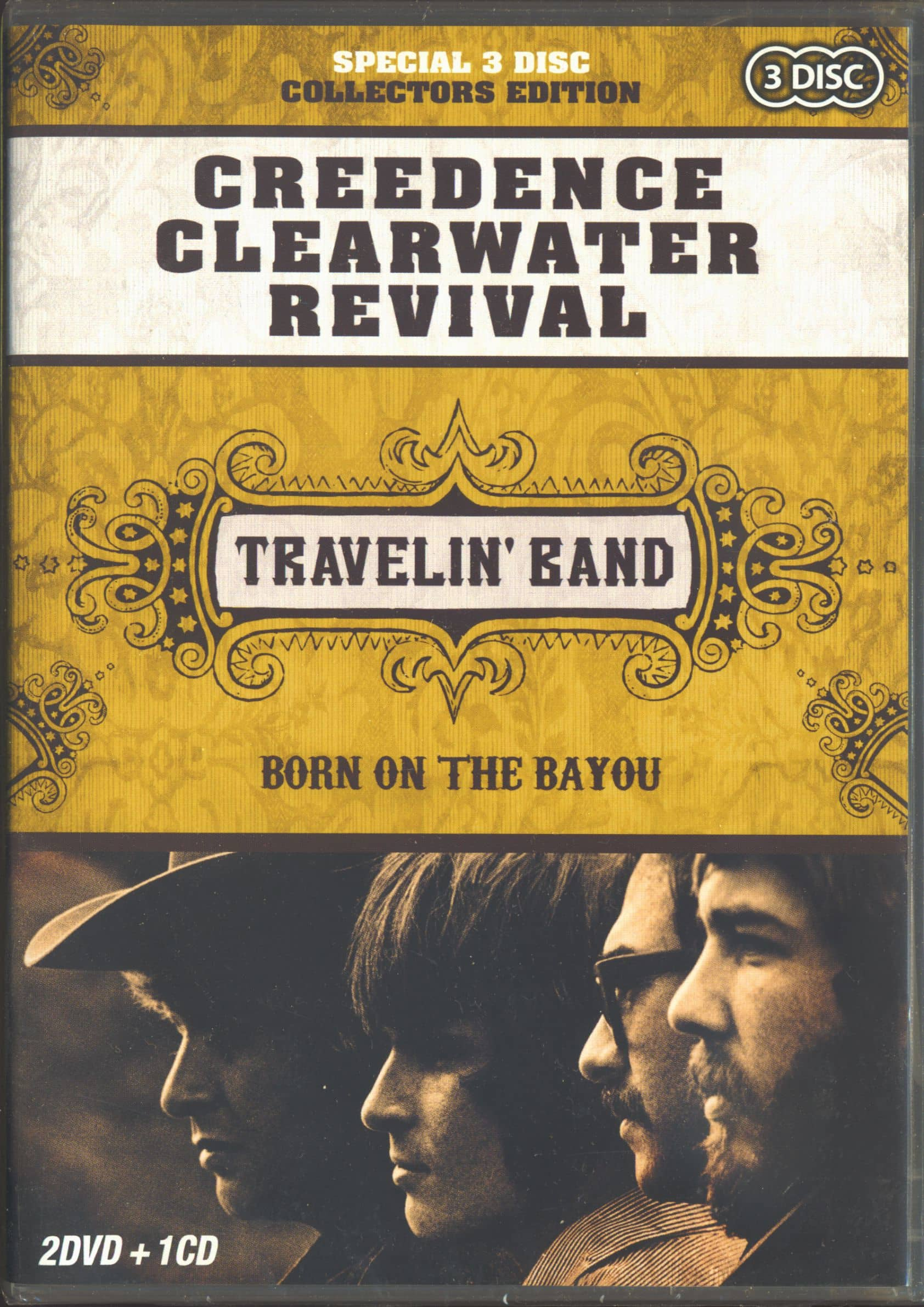 Creedence Clearwater Revival DVD Travelin' Band 20 DVD & 20 CD ...